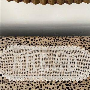"VINTAGE 1970's ""BREAD"" CROCHET"